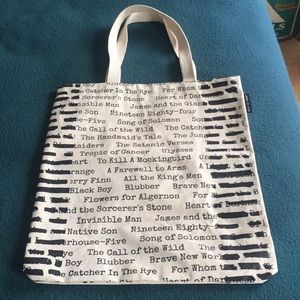Out of Print Bags - Banned books tote bag f51a79a7d5c92